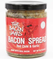 Bacon Jams- Red Chili & Garlic (8.5 oz)