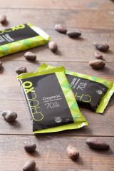 "ChocXO Dark Chocolate ""Organic"" Bars (Box of 12)"