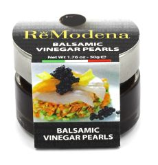 ReModena Black Balsamic Pearls (Caviar)