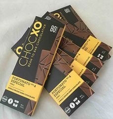 ChocXO Fortunato Chocolate Dark (Single Origin) Peruvian (6 Bars)