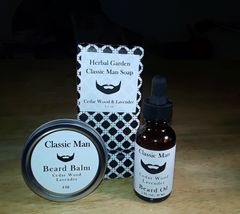 Classic Man Cedar Wood & Lavender Gift Set