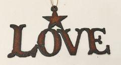 Rusty Love Ornament