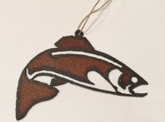 Rusty Fish Ornament