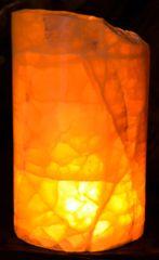 """Honeycomb Calcite Luminary 3.75 x5-6""""h"""
