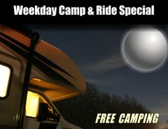 Weekday Camp and Ride Deal