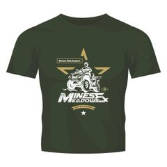 Military Green Tee- NEW