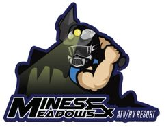 "Mines & Meadows 3"" Miner Decal"