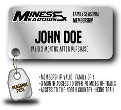 Mines & Meadows Family Seasonal Pass