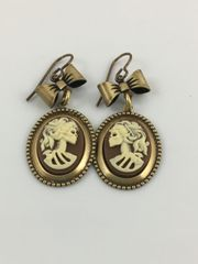 Steampunk Goth Lolita Earrings by Victorian Folly