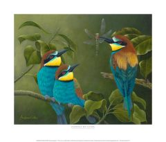 """European Bee-eaters"""
