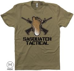 SASQUATCH TACTICAL T-SHIRT, LIGHT OLIVE