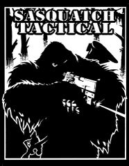SASQUATCH TACTICAL 4.25X5.5 STICKER