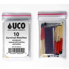 UCO Survival Stormproof Matches Bulk 10 Pack